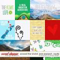 Around the world: New Zealand - Cards by Amanda Yi & WendyP Designs