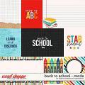 Back To School | Cards by Digital Scrapbook Ingredients