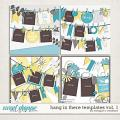 Hang in There Templates Vol. 1 by Meagan's Creations