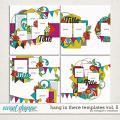 Hang in There Templates Vol. 5 by Meagan's Creations