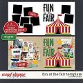 FUN AT THE FAIR TEMPLATE by Janet Phillips