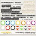 Around the world: Brazil - Stickers by Amanda Yi & WendyP Designs