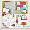 My Story Vol. 1 : Templates by Meagan's Creations