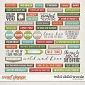 Wild Child Words by LJS Designs