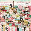 Bonjour, Beautiful Day Kit by Brook Magee and Studio Basic Designs