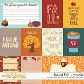 I Heart Fall Cards by Kelly Bangs Creative and WendyP Designs