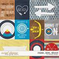 Raise, aim, shoot - cards by WendyP Designs