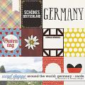 Around the world: Germany - Cards by Amanda Yi & WendyP Designs