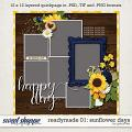 Readymade Template 01: Sunflower Days by Grace Lee