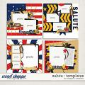 Salute : Templates by Meagan's Creations