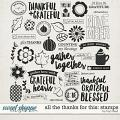 All The Thanks For This Stamps by Traci Reed