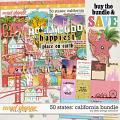 50 States: California Bundle by Kelly Bangs Creative