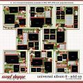 Cindy's Layered Templates - Universal Album 8: Add-on by Cindy Schneider