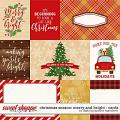 Christmas Season: Merry and Bright | Cards by Digital Scrapbook Ingredients
