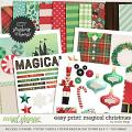 Remember the Magic: MAGICAL CHRISTMAS- EZPRINT by Studio Flergs
