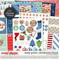 Easy Print: Christmas Blues by WendyP Designs