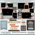 Cindy's Layered Templates - Double the Memories: November by Cindy Schneider