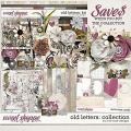 Old Letters: Collection by River Rose Designs