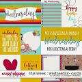 This Week: Wednesday - Cards by Amanda Yi & Meagan's Creations