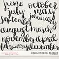 Handlettered: Months by Amanda Yi