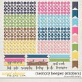 Memory Keeper Planner Stickers by Ponytails