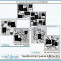 Cindy's Layered Templates - Bundled Half Packs #249-251 by Cindy Schneider