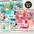 Birthday Boy & Girl Mega Bundle by Digital Scrapbook Ingredients