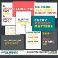 CELEBRATE THIS DAY: JOURNALING CARDS by Janet Phillips