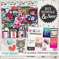 12 Months: February Bundle by Amanda Yi