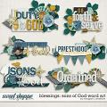 Blessings : Sons of God Word Art by Meagan's Creations