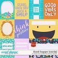 Think Happy - Cards by Blagovesta Gosheva & WendyP Designs