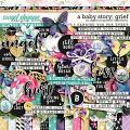 A Baby Story: Grief by Digital Scrapbook Ingredients