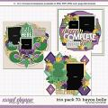 Cindy's Layered Templates - Trio Pack 70: Bayou Belle by Cindy Schneider