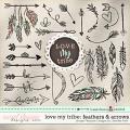 LOVE MY TRIBE: Feathers & Arrows Simple Pleasure Designs by Jennifer Fehr