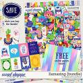 Llamazing {bundle} by Blagovesta Gosheva + FREE ombre papers
