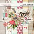Hello Love Mini:  Simple Pleasure Designs by Jennifer Fehr