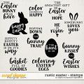 Rustic Easter | Stamps by Digital Scrapbook Ingredients