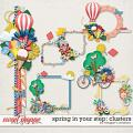 Spring in Your Step: Clusters by Meagan's Creations