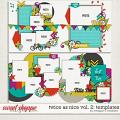 Twice As Nice Vol. 2: Templates by Meagan's Creations