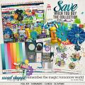 Remember the Magic: TOMORROW WORLD- COLLECTION & *FWP* by Studio Flergs