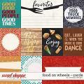 Food on wheels - cards by WendyP Designs