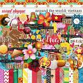 Around the world: Vietnam by Amanda Yi & WendyP Designs