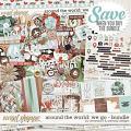 Around the world: We Go - Bundle by Amanda Yi & WendyP Designs
