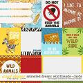Animated Dream: Wild Friends Cards by Meagan's Creations and WendyP Designs