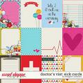 Doctor's Visit: Sick Cards by Meagan's Creations