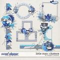 Little Man: Clusters by Meagan's Creations