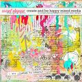Create & Be Happy Mixed Media by Simple Pleasure Designs and Studio Basic
