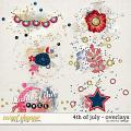 4th of July - Overlays by Red Ivy Design