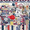 4th of July by Red Ivy Design