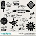 Keeping Cool | Stamps by Digital Scrapbook Ingredients